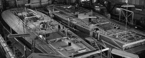 Elco PT Boat Construction
